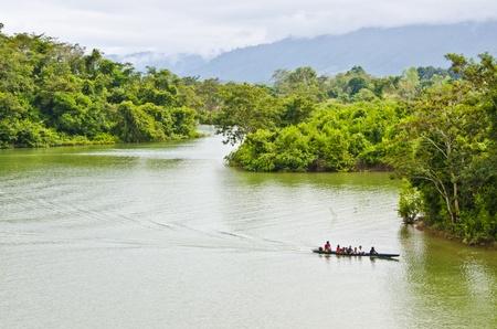 nam: Boat on Nam Ngum, Vang Vieng