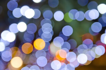 Blur lights , Bokeh background  photo