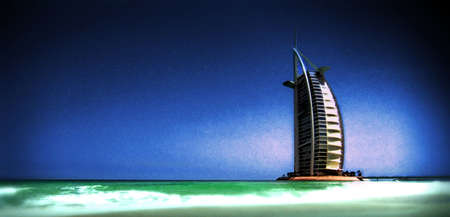al: Burj Al Arab Hotel, Dubai, United Arab Emirates