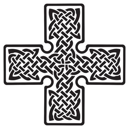 Celtic pagan cross