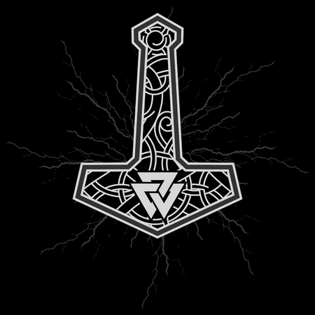 Thors hammer - Mjolnir and the Scandinavian ornament