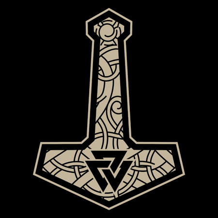 Thors hammer - Mjolnir and the Scandinavian ornament