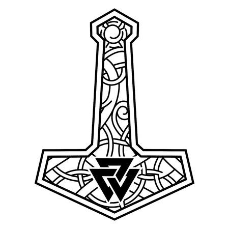 Thorshamer - Mjolnir en het Scandinavische ornament