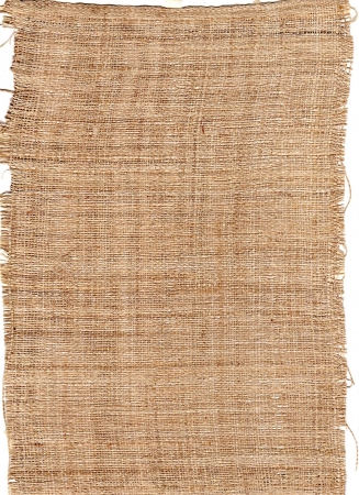 texture fiber from natural burlap hessian sacking photo