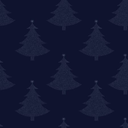Seamless pattern Christmas tree  Stock Vector - 15474195