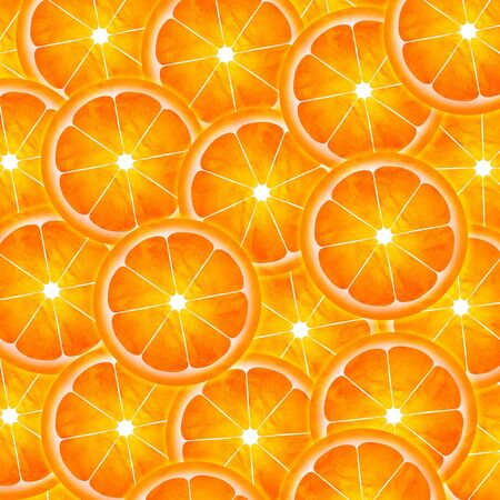 Slice of orange pattern painting illustration illustration