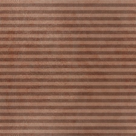 sameless  brown pattern horizontal stripes with leather texture  photo