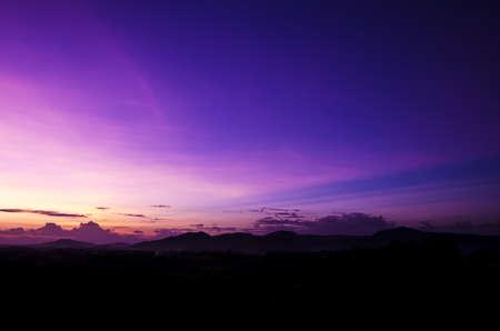 Twilight light  photo