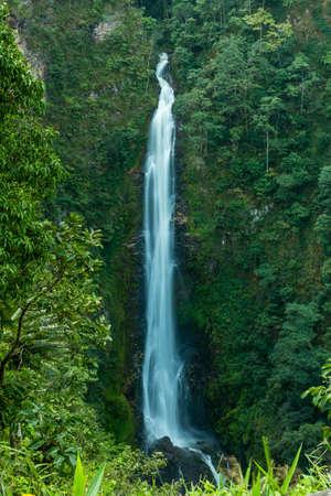 Mae Surin waterfall at Mae Hong Son, Thailand photo