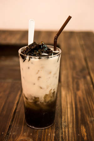 Soy milk grass Jelly
