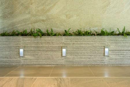 parapet wall: Small garden on balcony