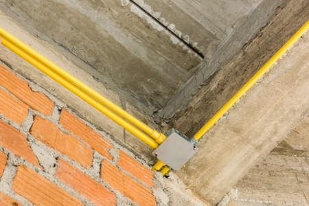 Fein Installation Von Elektrischen Leitungen Zu Hause Zeitgenössisch ...
