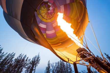 propane gas: Hot air balloons get inflated with propane gas.