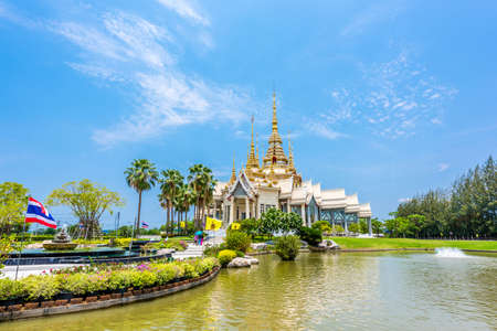 none: Wat None Kum beautuful temple in Nakhon Ratchasima province, Thailand
