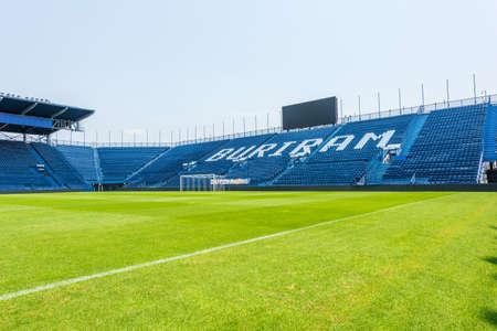 Buriram,Thailand - May 11, 2016: i-mobile Stadium on May 11, 2016.The i-mobile Stadium is the largest football stadium in Thailand.