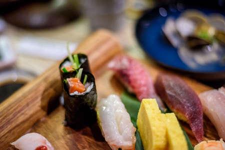 Mixed Sushi,Sushi set, Japanese food