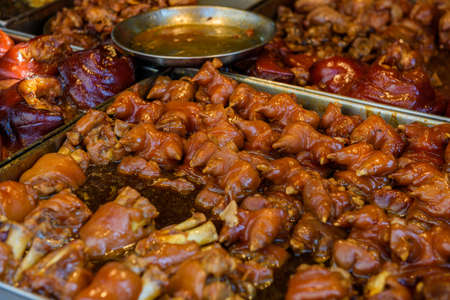 rou: Hong Shao Rou (Red Cooked Pork) - Chinese pork belly caramelized and braised