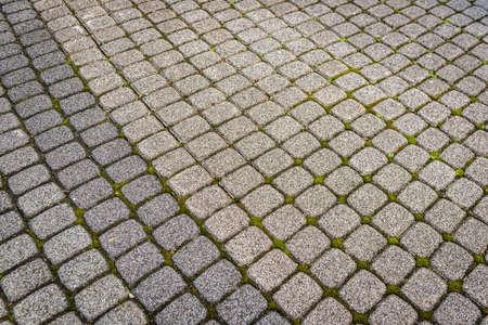 石造りの床のパターン