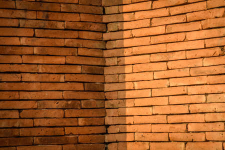 Background of brick wall texture Imagens