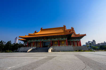 Democracy Memorial Hall in Taipei ( National Chiang Kai-shek Memorial Hall )