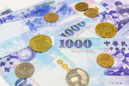 Taiwanese currency Reklamní fotografie