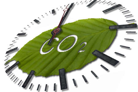 dioxido de carbono: di�xido de carbono Foto de archivo
