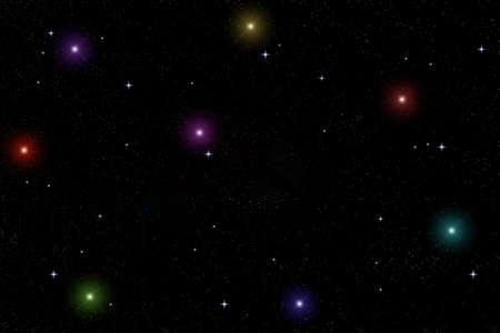 starlit sky Stock Photo - 8442581