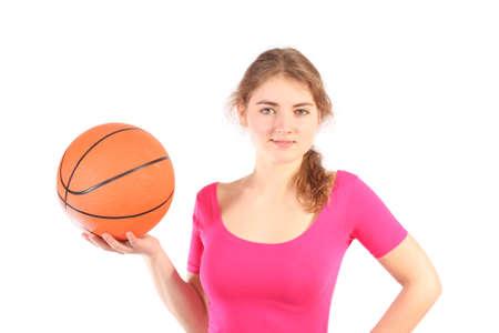 baloncesto chica: chica de baloncesto