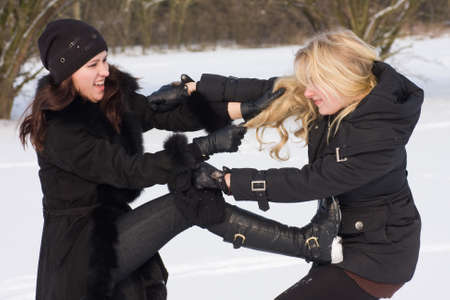 women fight: dispute