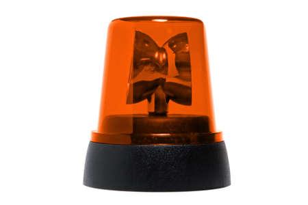 rotating: orange rotating beacon