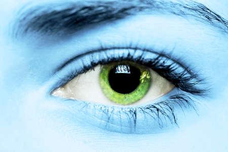 gr�ne Augen