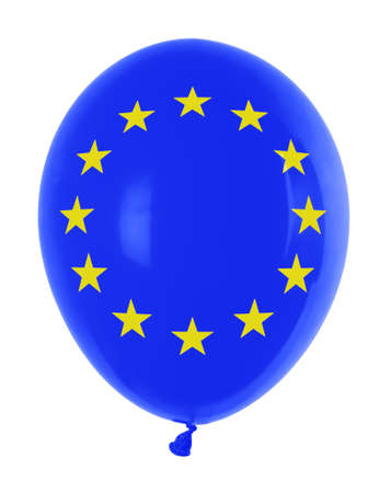 inflatable balloon with flag