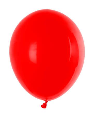 aufblasbaren Ballon roten