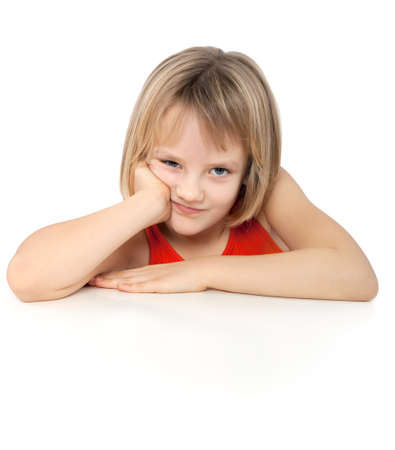 bored girl photo