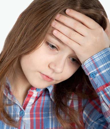 depressed child photo