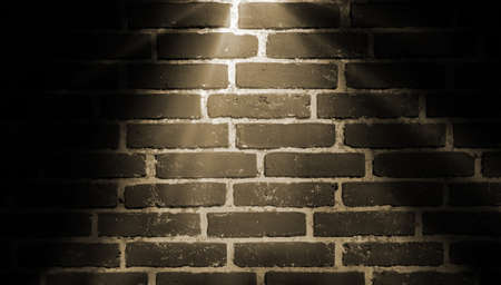 wall decor: spot lighting background yellow