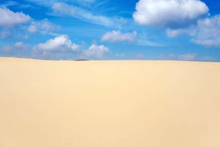 fuerteventura: sand dunes of Corralejo, Fuerteventura