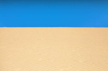 narrow depth of field: desert sand with selected focus, narrow depth of field