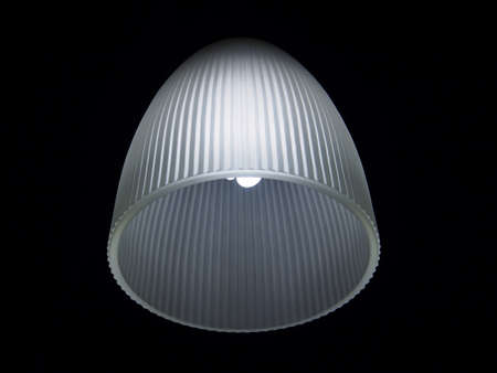 irradiate: Close-up ceiling lamp Stock Photo