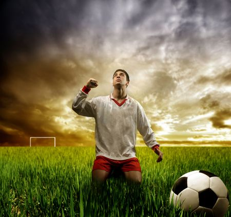 a soccer player photo