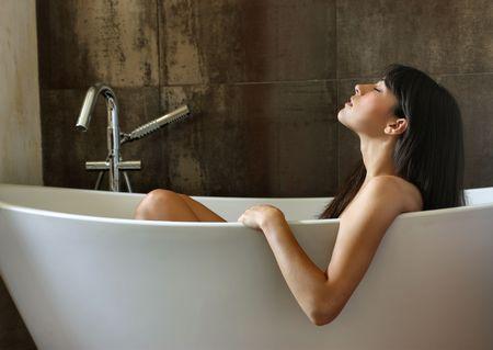 beautiful woman  bathing Stock Photo - 5642334