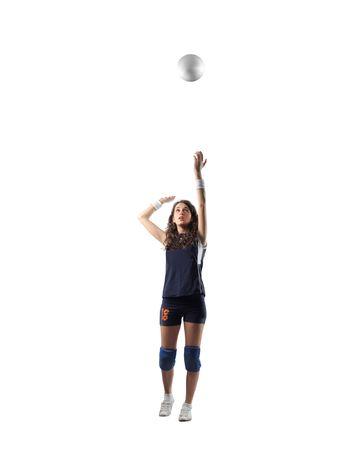 ballon volley: joueur de volley ball.