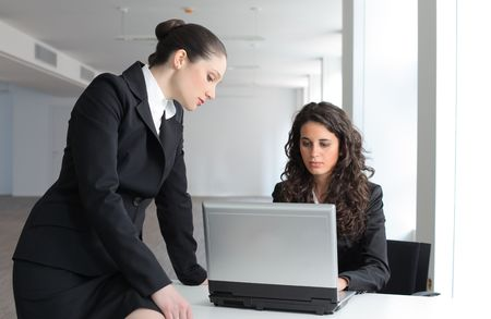 Businesswomen working at the office Stock Photo - 6880636