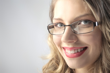 Smiling beautiful woman Stock Photo - 8554420