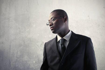 African businessman Stock Photo - 8736538
