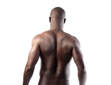 Hermoso hombre africano Foto de archivo - 8856438