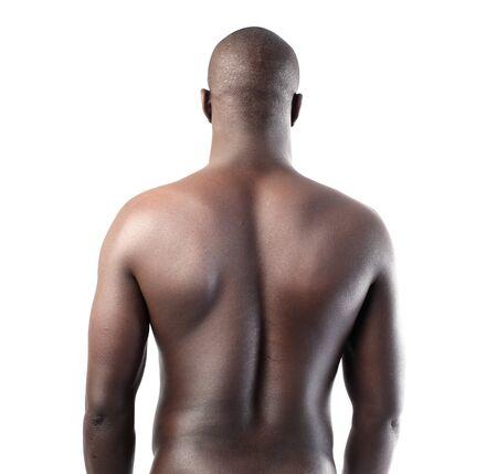 macho man: Handsome african man