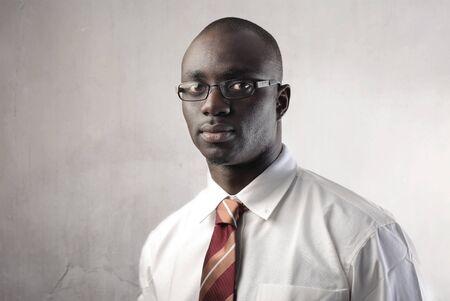 Portrait of an african businessman photo