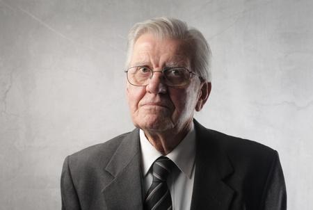 Senior businessman photo