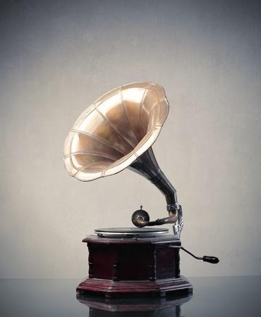 gramophone: Old gramophone